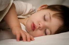 sleep research regular bedtime, toddler child baby sleep brain development learning news study