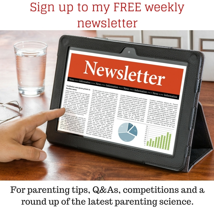 Sign up to my FREE weekly newsletter